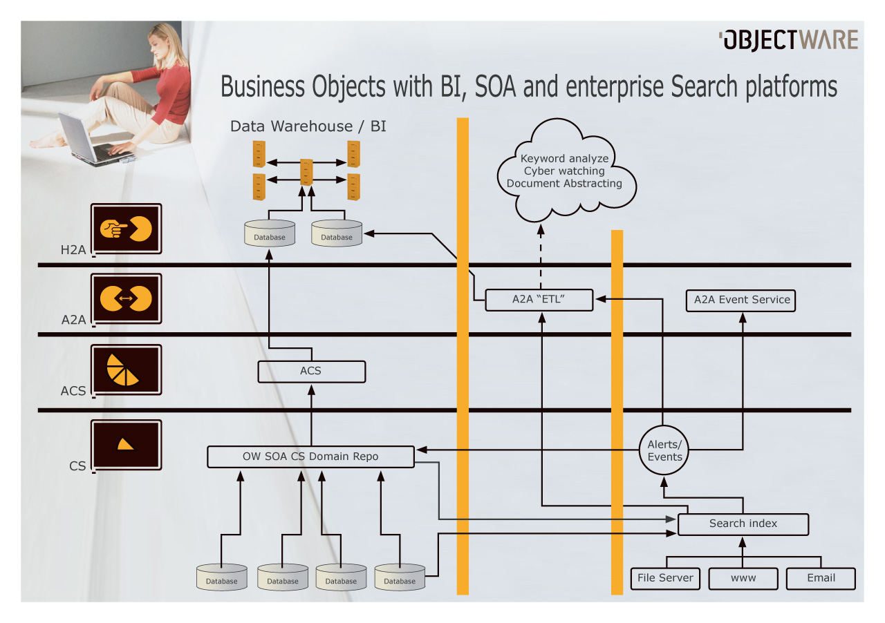 Business Intelligence (BI) and Enterprise Search in a Service ...